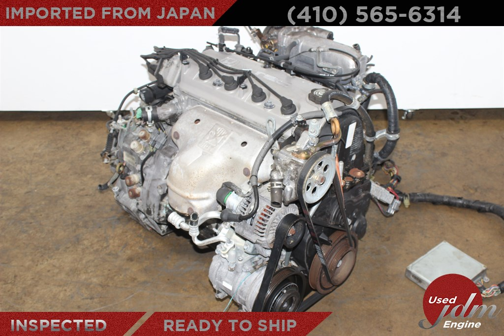 Honda accord 2 2l sohc vtec jdm f22b engine 1994 1995 1996 for Major motors baltimore maryland